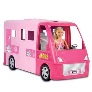 camping car poupee achat vente jeux et jouets pas chers. Black Bedroom Furniture Sets. Home Design Ideas