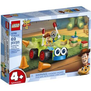 ASSEMBLAGE CONSTRUCTION LEGO® 4+ TOY STORY™ 10766 Woody et RC - Disney - P