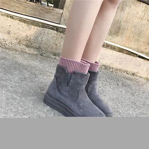 femmes Bottes et bottes de neige de velours bottes chaudes bottes épaisses bottes bottes occasionnelleschaussures de coton bfGn2DEu
