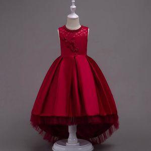 4e9d48f435198 ROBE DE MARIÉE Les enfants en bas âge filles robe de mariée en de. Les  enfants en bas âge filles robe de mariée en dentelle fleur Party princesse  Vêtements ...