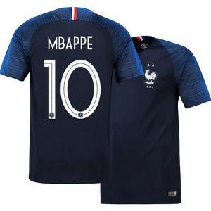 MAILLOT DE FOOTBALL Authentique Maillot Equipe de france MBAPPE 10  2