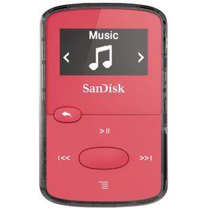 LECTEUR MP3 SANDISK CLIP JAM Lecteur MP3 8Go rose