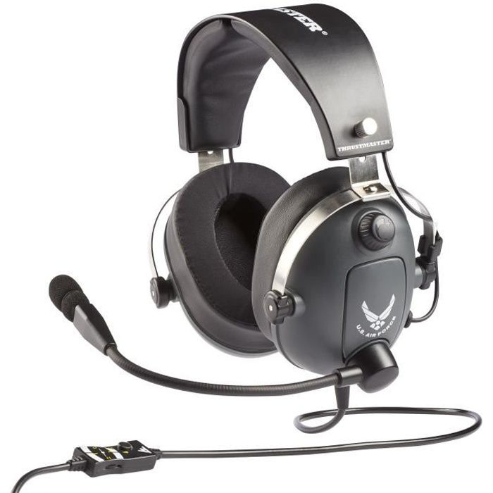 THRUSTMASTER Casque gaming T.Flight Us Air Force Edition
