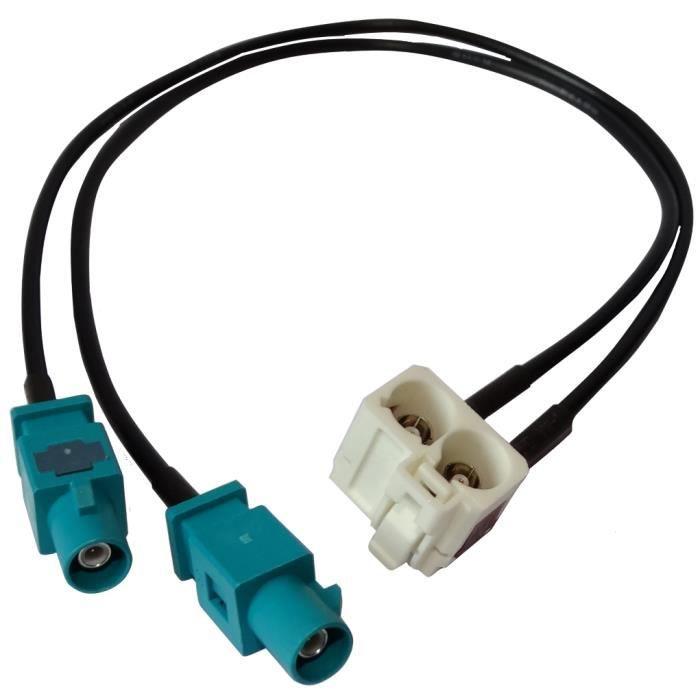 aerzetix connecteur adaptateur fiche prise antenne fakra. Black Bedroom Furniture Sets. Home Design Ideas