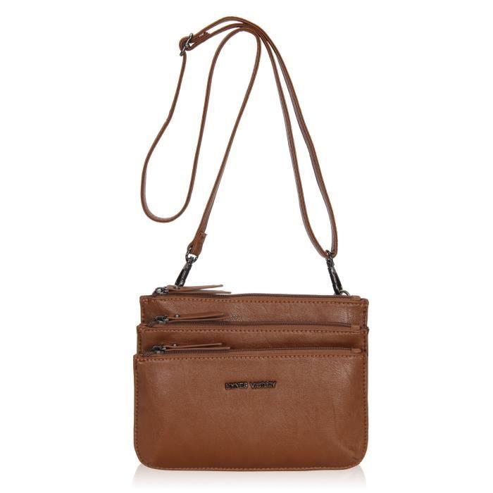 prix de gros meilleure qualité pour outlet Multi-poches sac à bandoulière petit sac à main pour femme ...