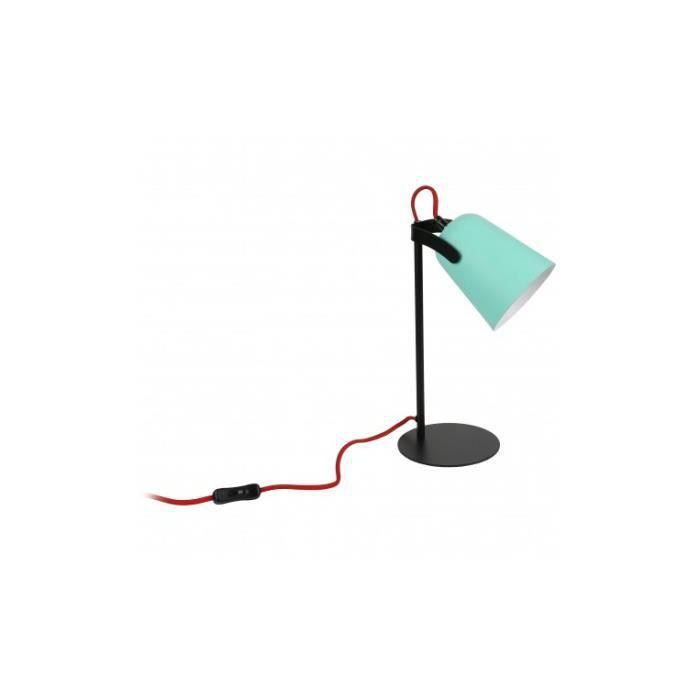 Verte Poser Noire Lampe Mezzo À Et lKJc1F