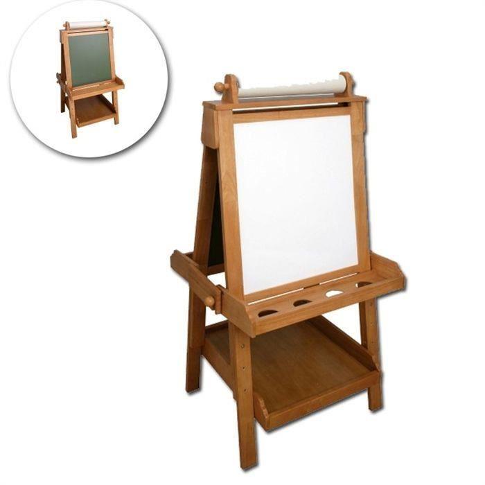Tableau chevalet en bois haut de gamme double face - Achat / Vente ...