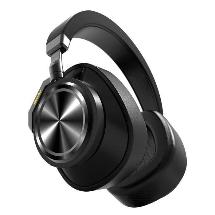 Bluedio T6 Casque Audio Bluetooth Stéréo Sans Fil Musique Baladeurs – Hifi Écouteurs Avec Carte De Sport-k3