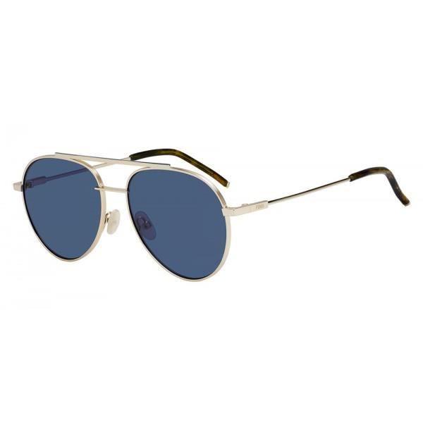 Fendi FF 0222 S-000 (KU) - Achat   Vente lunettes de soleil Mixte ... 74cee36eaa4