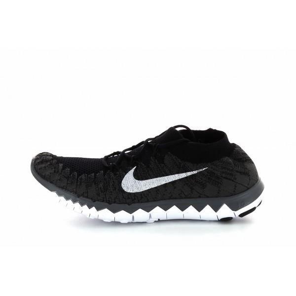 taille 40 a866d 88f04 Basket Nike Free Flyknit 3.0 - 6... Noir Noir - Achat ...