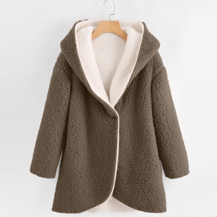 cf5abc1332 Manteau hiver femme grande taille - Achat / Vente pas cher