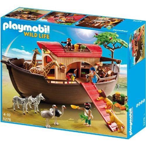 Playmobil arche de no avec animaux de la savane achat vente univers miniature cdiscount - Playmobile savane ...