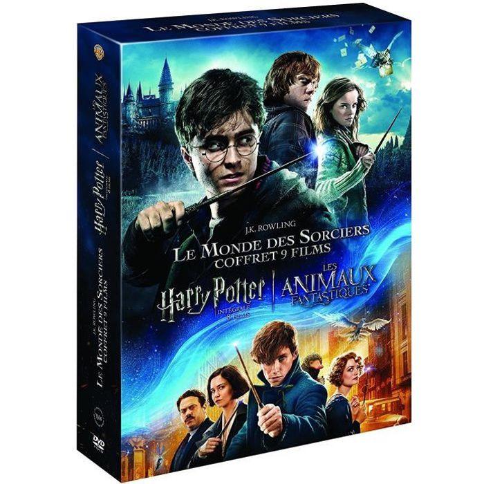 DVD FILM Coffret Harry Potter + Les animaux Fantastiques -