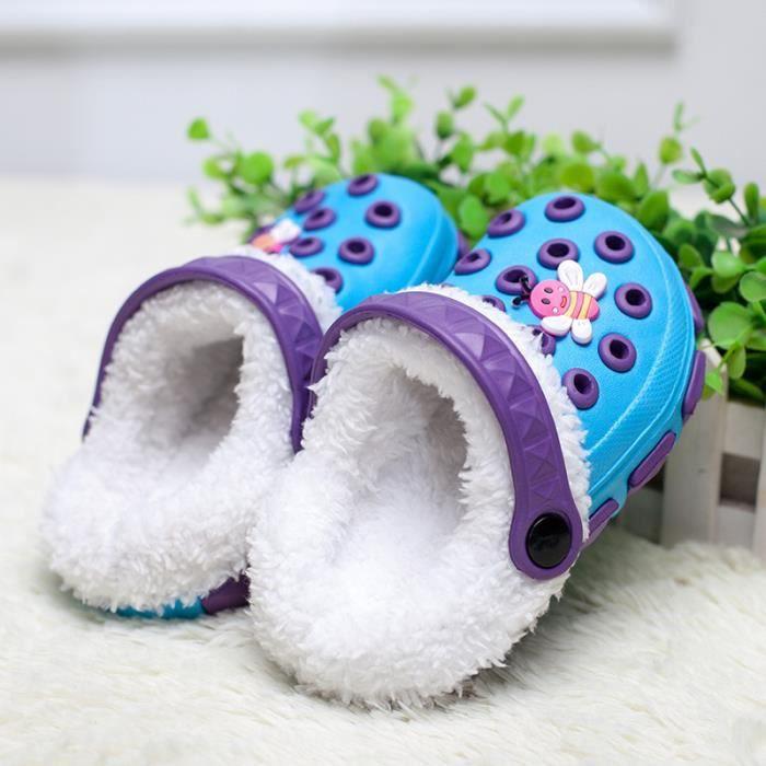 sandale Enfant chaussure d'eau chaussure de ete chaussons enfant chaudement