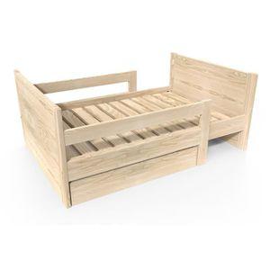 lit evolutif enfant achat vente pas cher. Black Bedroom Furniture Sets. Home Design Ideas