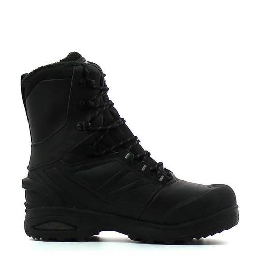 Boots de randonnée chaude Salomon Toundra Pro CSWP Noir