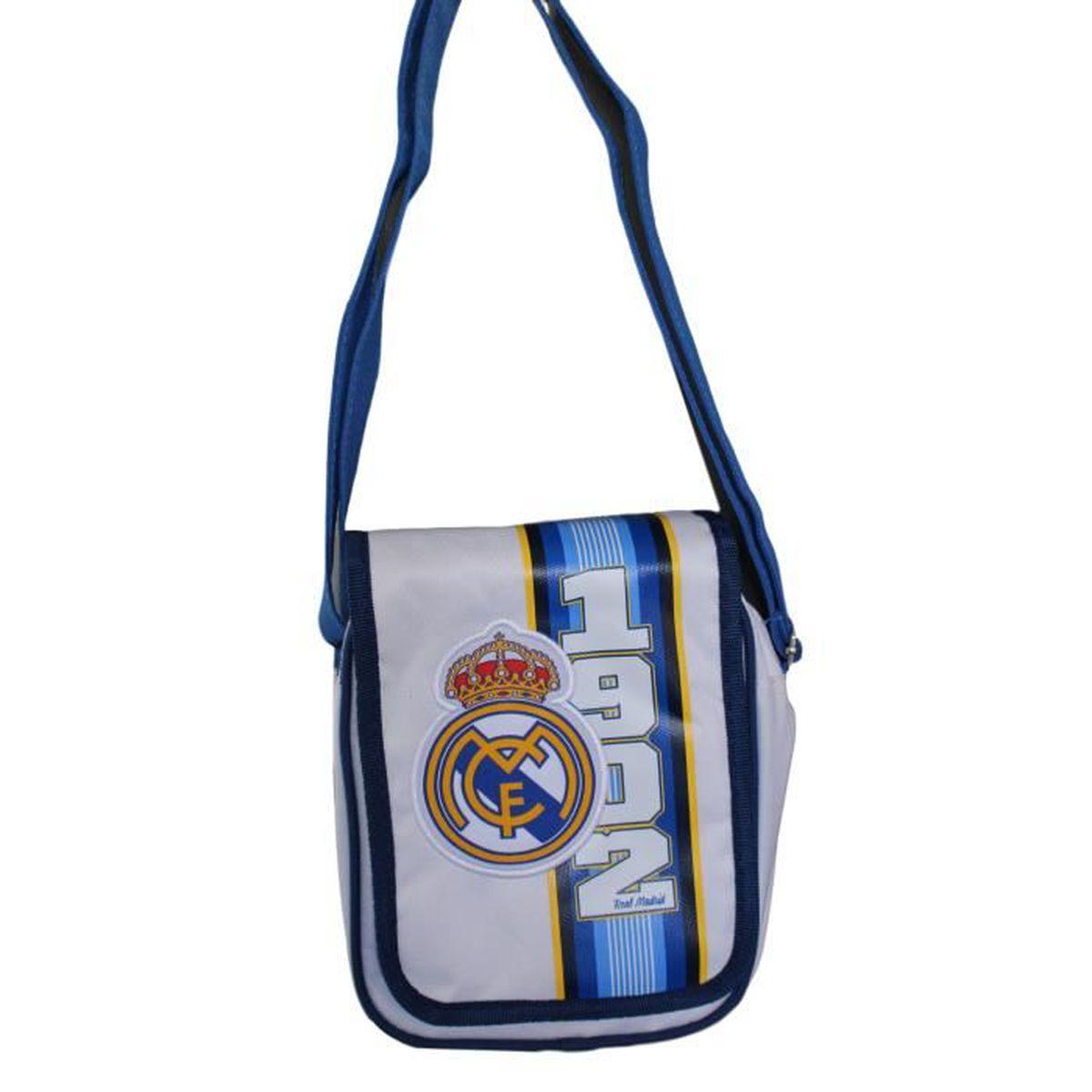 53381236e8 Sacoche Sac à bandoulière Real Madrid club foot CR7 Ronaldo Benzema