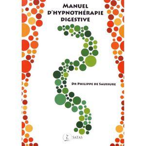 LIVRE PSYCHOLOGIE  Manuel d'hypnothérapie digestive