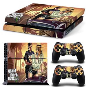 stickers ps4 gta5 achat vente pas cher. Black Bedroom Furniture Sets. Home Design Ideas
