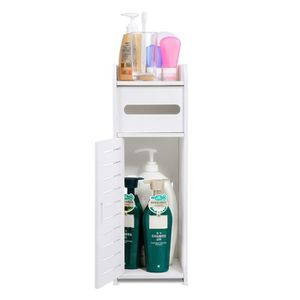 COLONNE - ARMOIRE WC Armoire de salle de bain Etagère de rangement pour