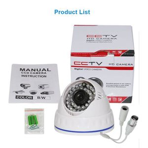 CAMÉRA ANALOGIQUE Hiseeu CMOS 1000TVL CCTV caméra mini-dôme caméra d