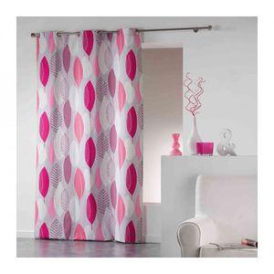 Double rideau rose - Achat / Vente pas cher
