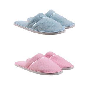 CHAUSSON - PANTOUFLE Pantoufles Eponge Femme Lot de 2