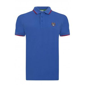 POLO Kenzo Polo Hommes Manche Court K-Fit Tiger Polo Bl