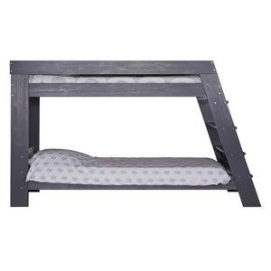 lit superpose acier achat vente lit superpose acier pas cher soldes d s le 10 janvier. Black Bedroom Furniture Sets. Home Design Ideas