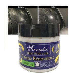 PRODUIT ENTRETIEN CUIR Crème Réparatrice Cuir,  RCuir de réparation crème