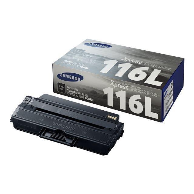 SAMSUNG Toner MLT-D116L/ELS - Noir - haute Capacité 3.000 pages