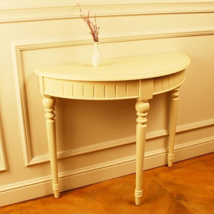 meuble demi lune bois achat vente meuble demi lune. Black Bedroom Furniture Sets. Home Design Ideas