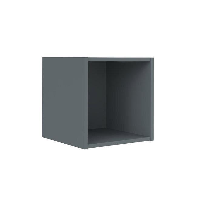 ETAGERE CUBE 1 CASE - Gris anthracite - Achat / Vente meuble étagère ...
