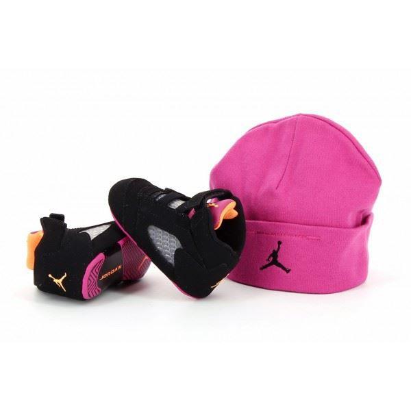 low priced f3af6 38902 Pack bonnet + basket Nike Air Jo.
