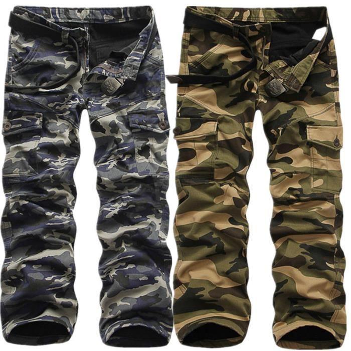 meilleur site web correspondant en couleur éclatant Pantalon camouflage pour homme