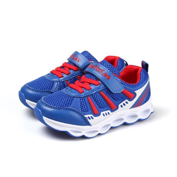 baskets Enfants Chaussures Garçon filles Respirante Chaussures de sport