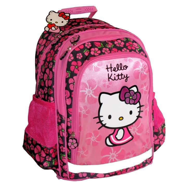 A Sac Rose Dos Vente Cartable Hello Kitty Achat Rosefleurs oQeECrdxBW