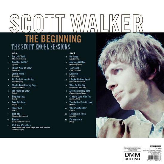 Tours Vinyle 33 180 Walker Scott Beginning Grammes Pop The w7Tq6cZPF