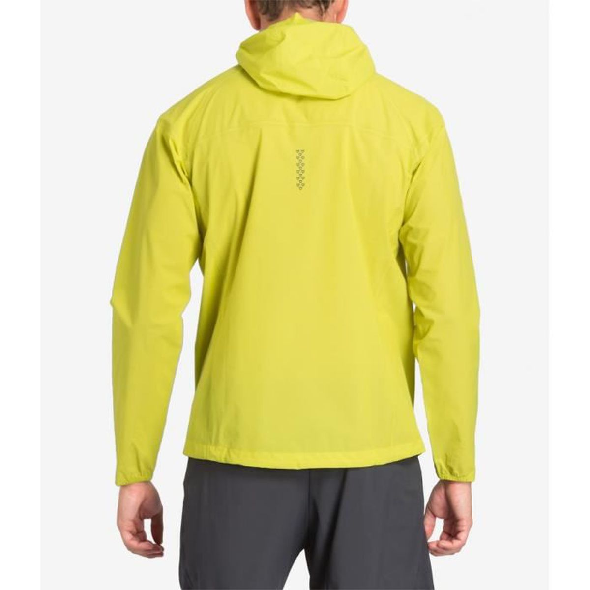 asics waterproof jacket yellow coupes vent hommes
