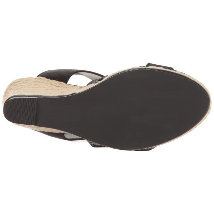 Women's Givs Espadrille Wedge Sandal KBD3A Taille-40 uK29Zd8bhh
