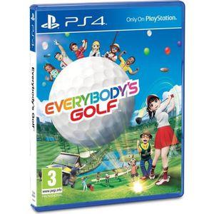JEU PS4 Everybody's Golf Jeu PS4