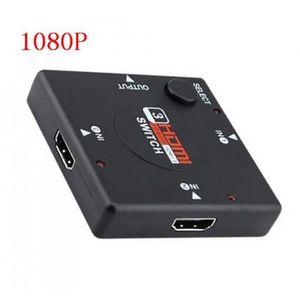 CÂBLE TV - VIDÉO - SON 4 K Switcher Hdmi Splitter * 2 3d Mini 3 Port Comm