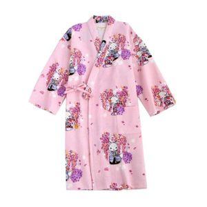 COUVERTURE - PLAID Peignoir pyjama Kimono Jupe en coton style japonai 8e0c669804a