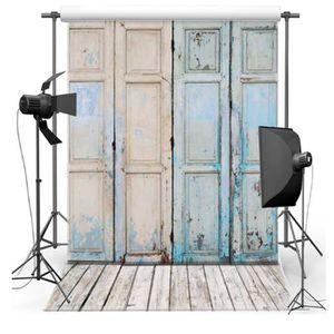 FOND DE STUDIO 1.5*2.1 m Porte En Bois Vinyle Photographie Fond P