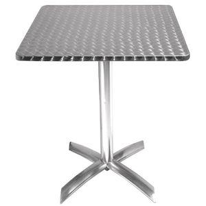 MANGE-DEBOUT Boléro place Flip-Top Table 600mm en acier inoxyda