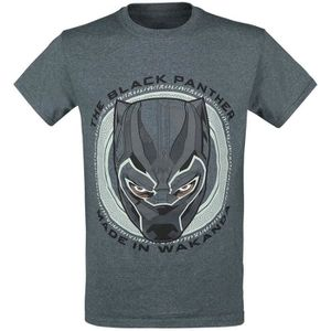 T-SHIRT Black Panther Made In Wakanda T-Shirt Manches cour