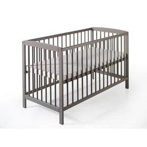 LIT BÉBÉ Lit bébé à barreaux Felix 60x120 cm Pin massif …
