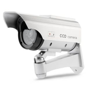 CAMÉRA FACTICE Interieure et exterieure energie solaire Camera de