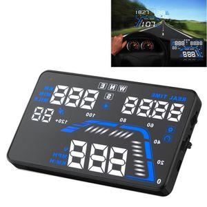 AFFICHAGE PARE-BRISE Affichage tête haute Q7 5.5 pouces voiture GPS HUD