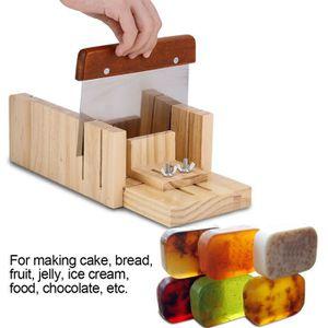 Moule à savon Moule à savon en silicone avec boîte en bois + Out